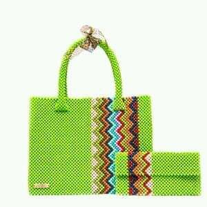 Image showing African style bag