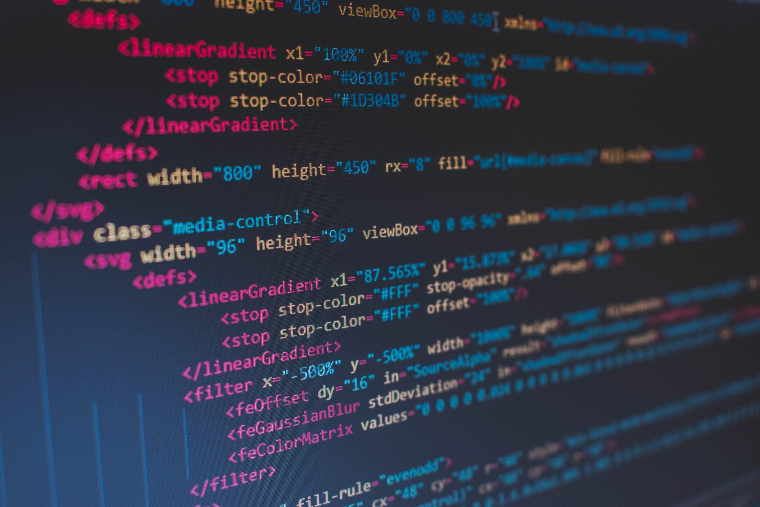 image showing programming language